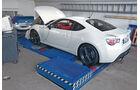 Toyota GT86, Werkstatt, Leistungsmessung