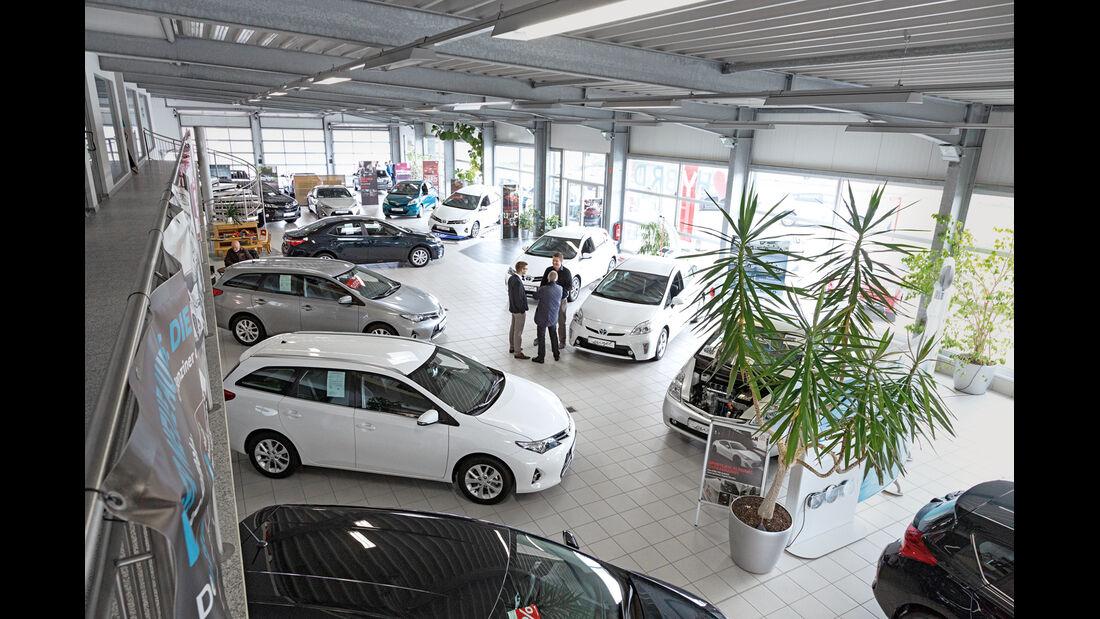 Toyota-Händler, Autohaus Engel, Impressionen