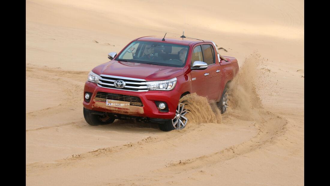 Toyota Hilux 2016 Fahrbericht Namibia