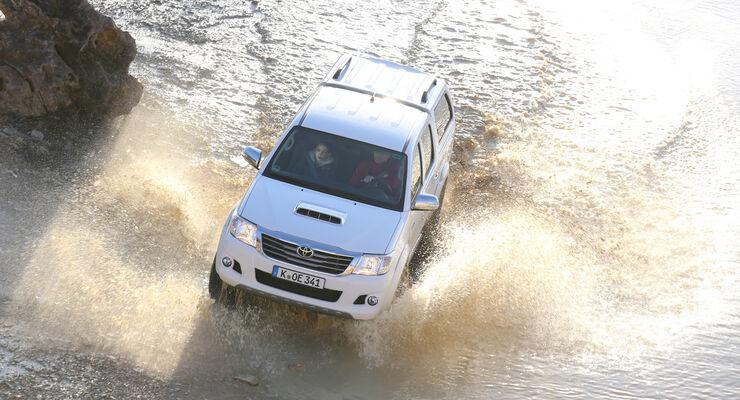 Toyota Hilux 3.0 D-4D, Frontansicht