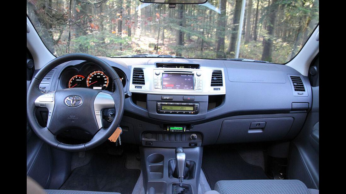 Toyota Hilux 3.0 D-4D Nestle Fahrbericht
