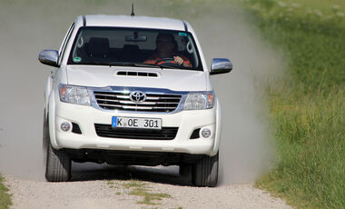 Toyota Hilux 3.0 D4-D Facelift 2012 Test