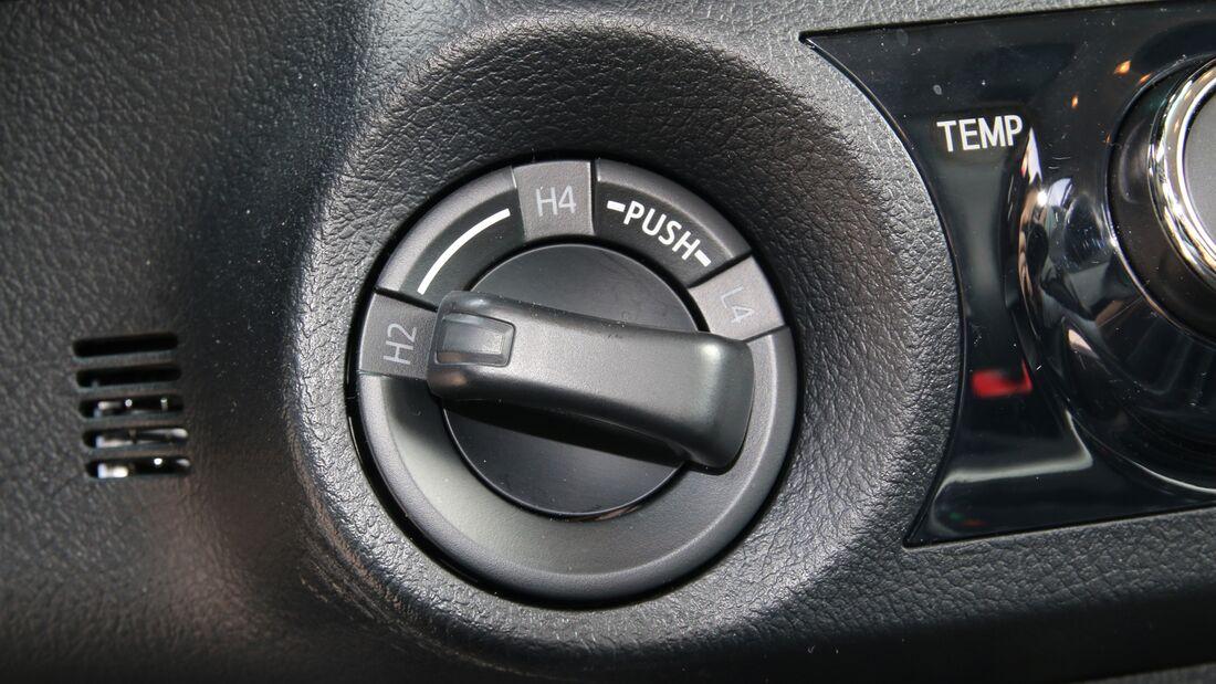 Toyota Hilux Automatik Fahrbericht