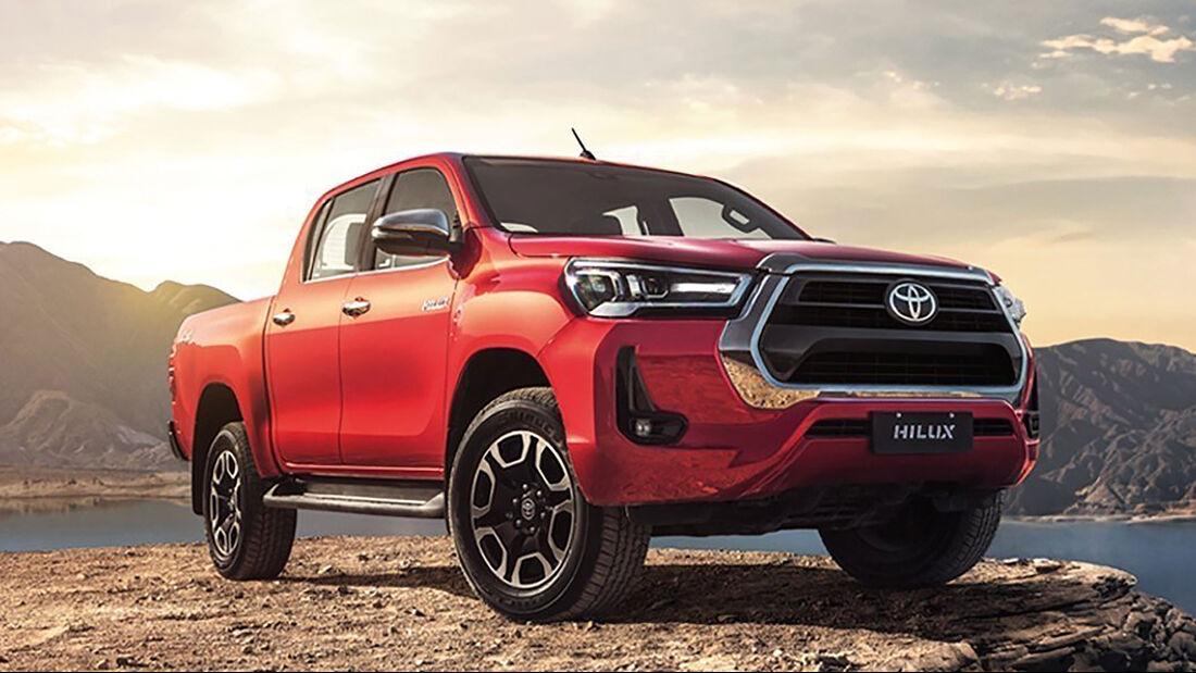 Toyota Hilux Brasilien