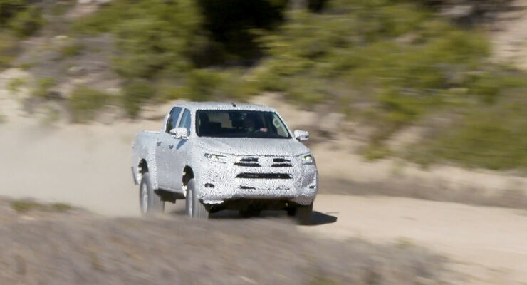 Toyota Hilux Modellpflege 2020 2.8 Alonso