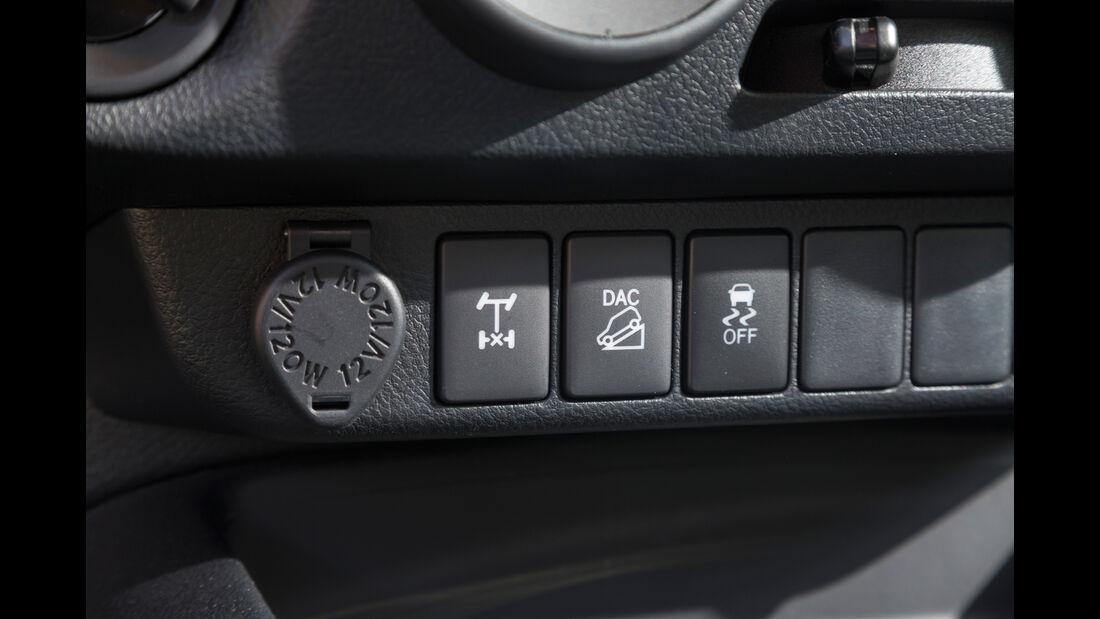 Toyota Hilux Pick-up 2.4D Double Cab 4x4, Bedienelemente