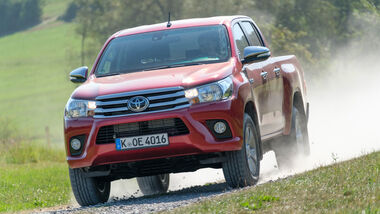 Toyota Hilux Pick-up 2.4D Double Cab 4x4, Frontansicht