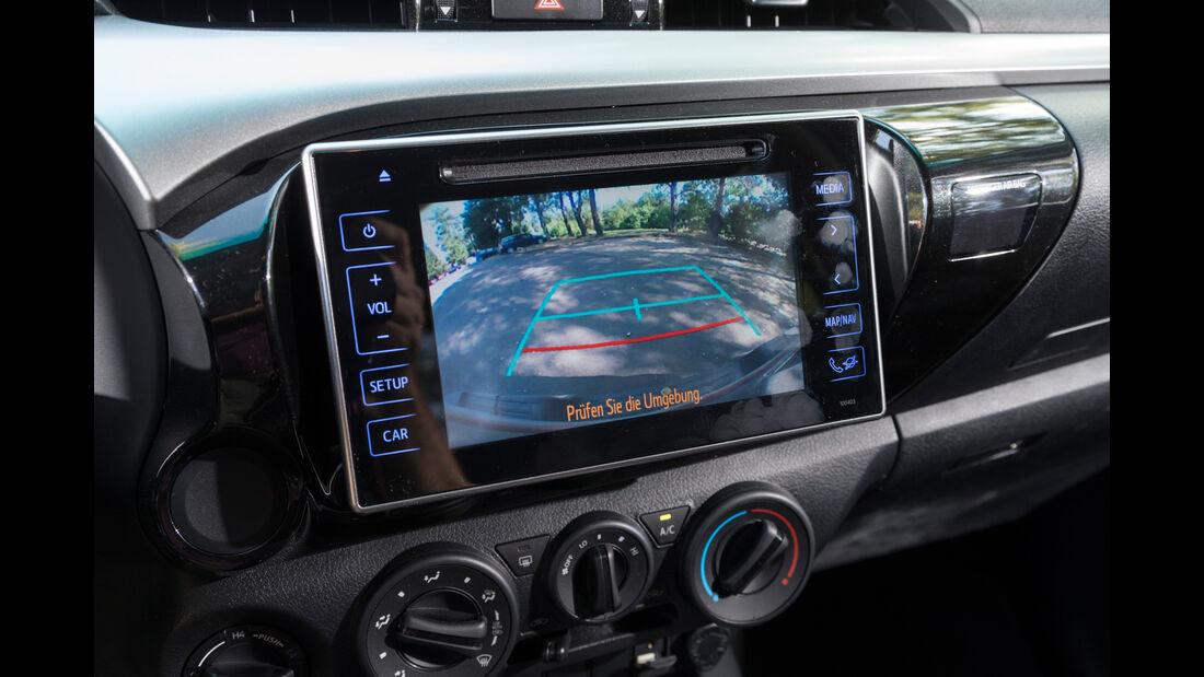 Toyota Hilux Pick-up 2.4D Double Cab 4x4, Rückfahrkamera