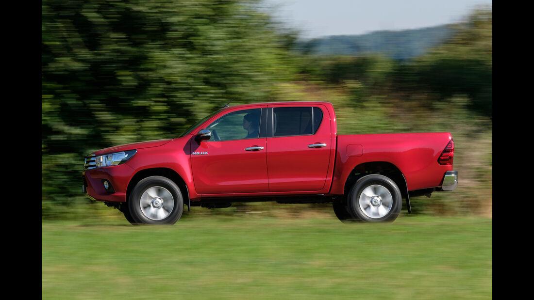 Toyota Hilux Pick-up 2.4D Double Cab 4x4, Seitenansicht