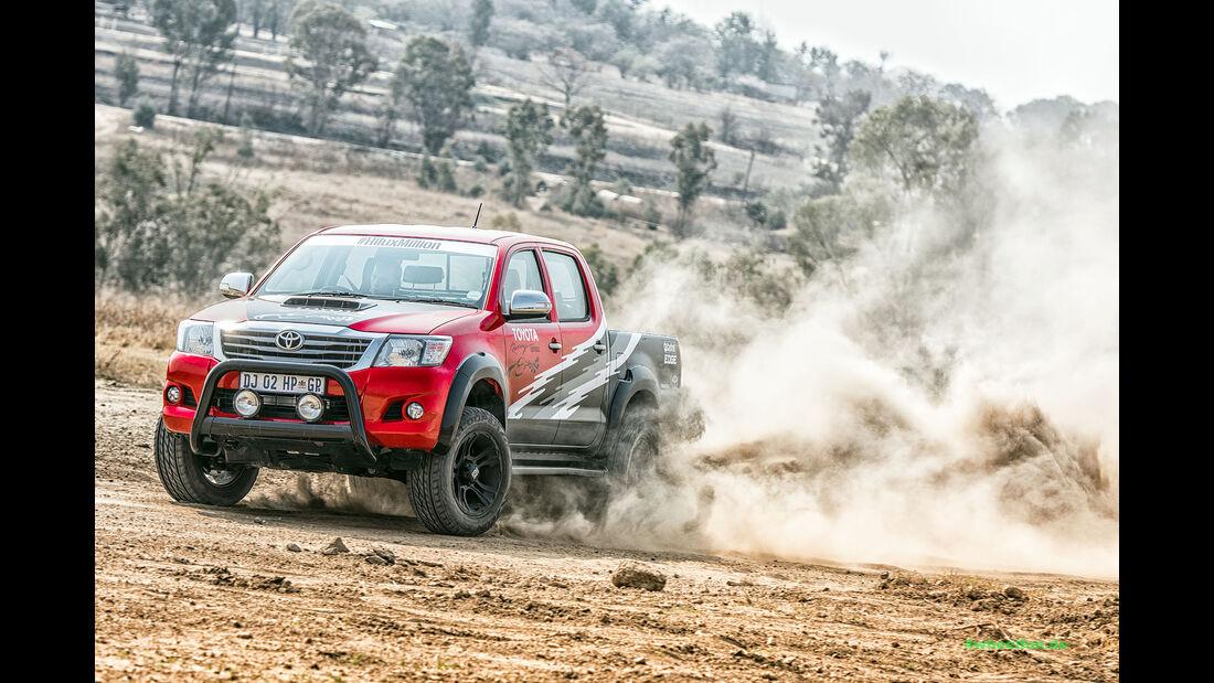 Toyota Hilux V8 Racing Experience Südafrika