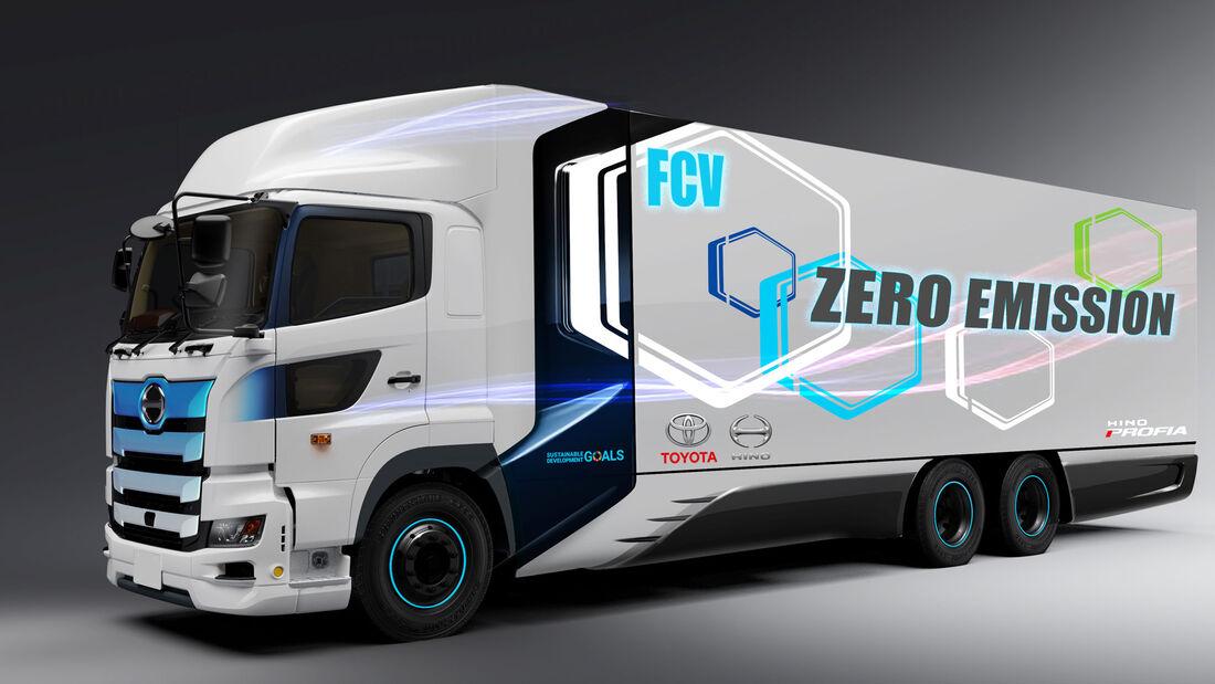 Toyota Hino Brennstoffzellen Lkw FCV