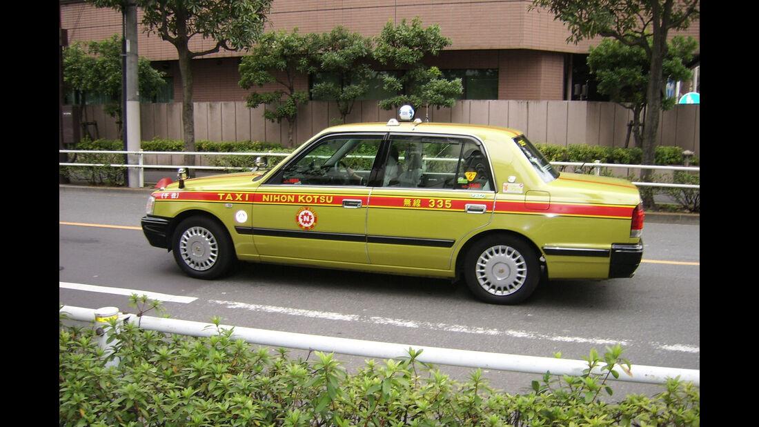 Toyota Japan JPN Taxi 2017