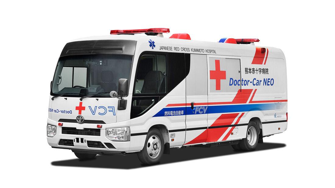 Toyota Krankenwagen Brennstoffzellenantrieb