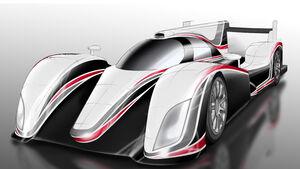 Toyota LMP1 Zeichnung