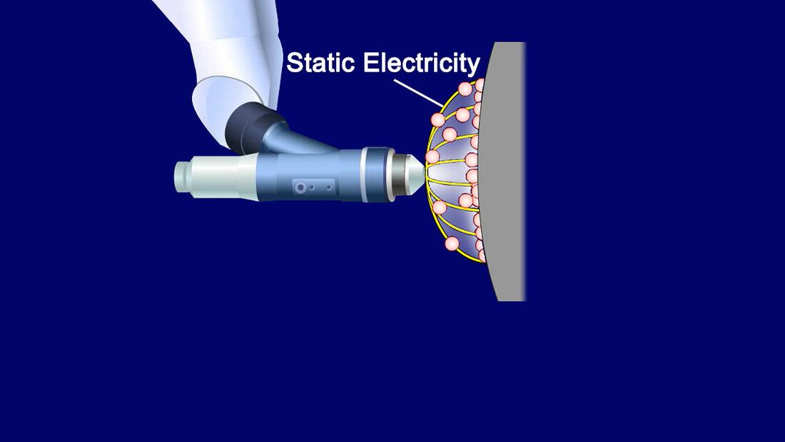 Toyota, Lackierung, elektrostatisch