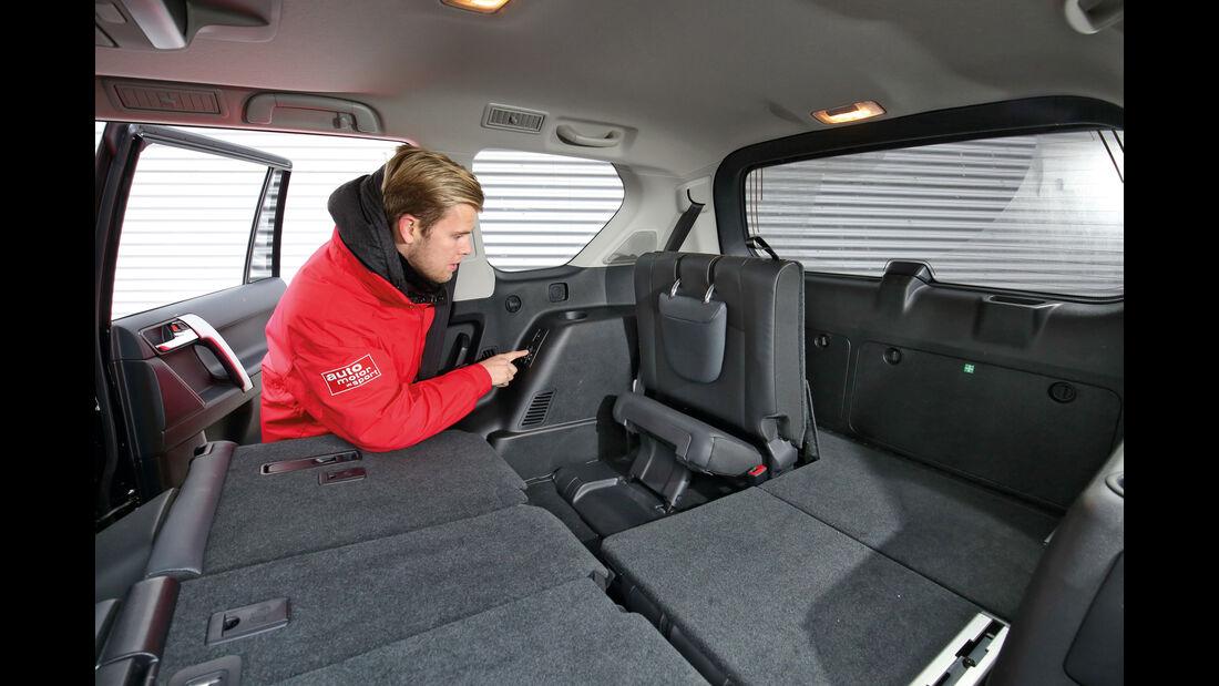Toyota Land Cruiser 2.8 D-4D, Ladefläche, Kofferraum