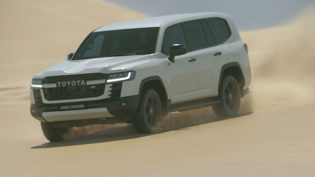 Toyota Land Cruiser 300 Weltpremiere Dubai
