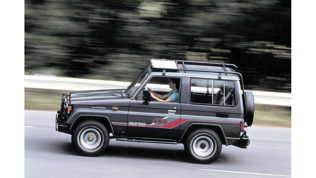 Toyota Land Cruiser J7