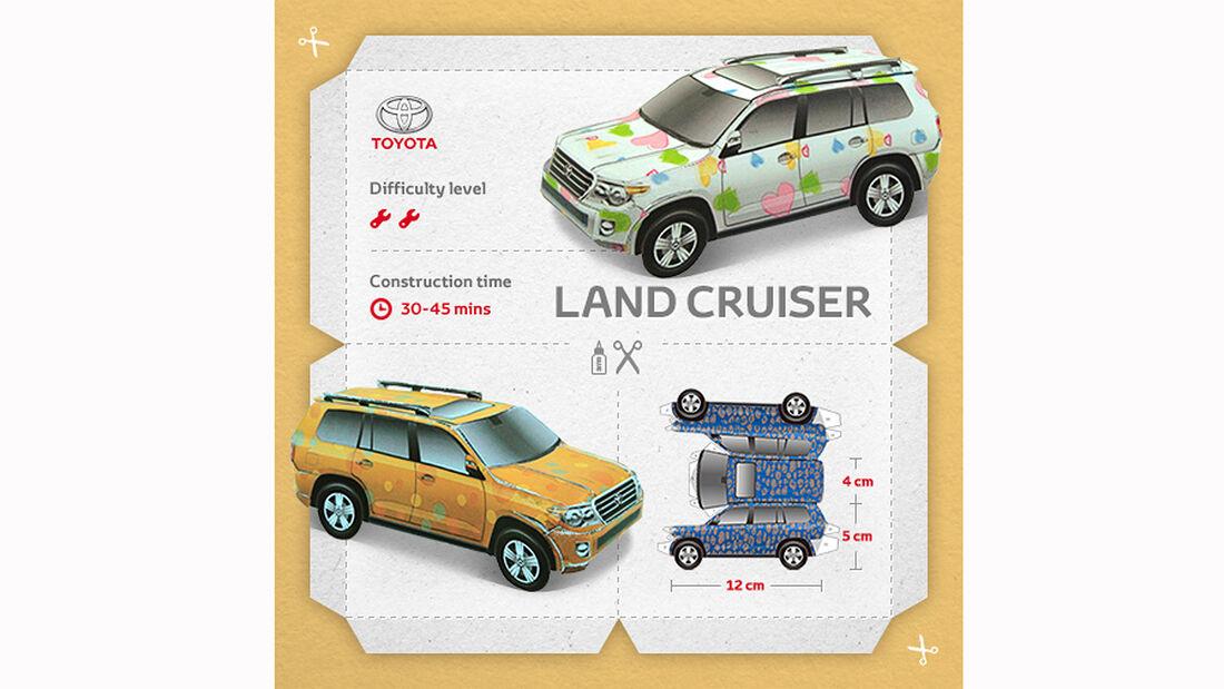 Toyota Land Cruiser Papercraft