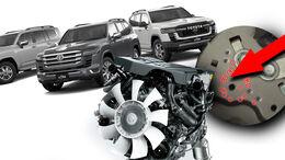 Toyota Land Cruiser Punkte Motor VIN Diebstahl Schutz
