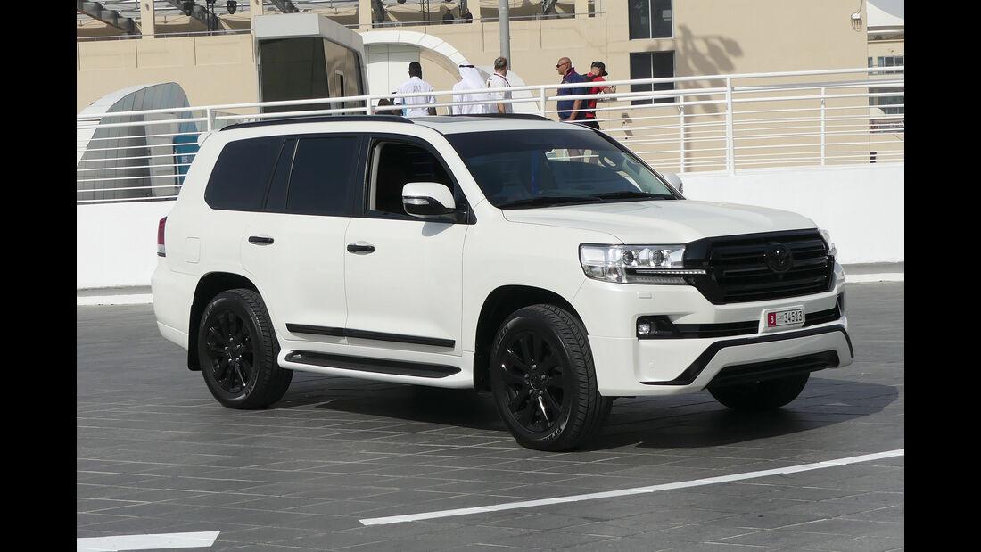 Toyota Land Rover VX.R V8 - Carspotting - GP Abu Dhabi 2018