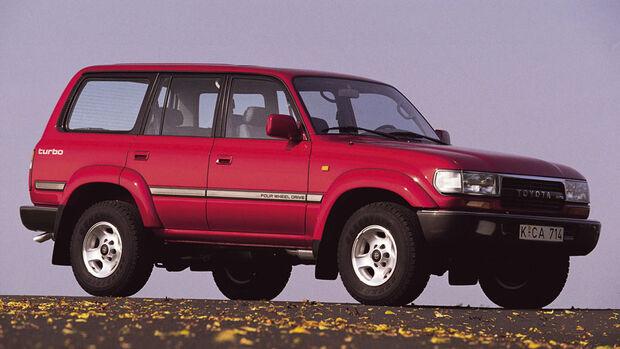 Toyota LandCruiser J7, HDJ80, 1990