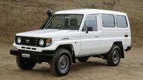 Toyota LandCruiser J7, HZJ75, 1993