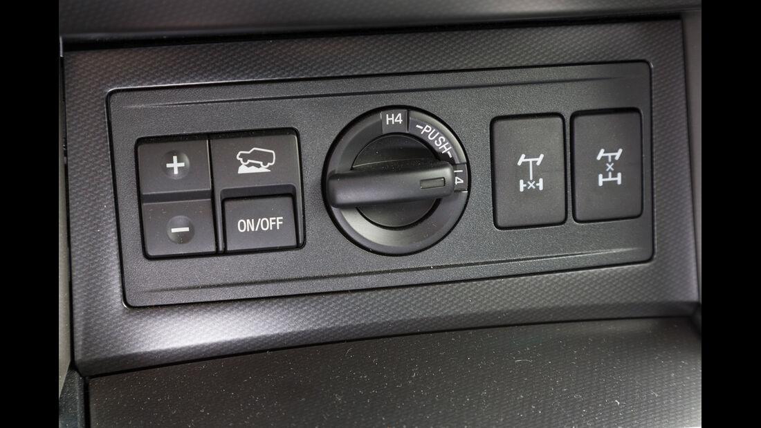 Toyota Landcruiser 3.0 D-4D, Bedienelemente