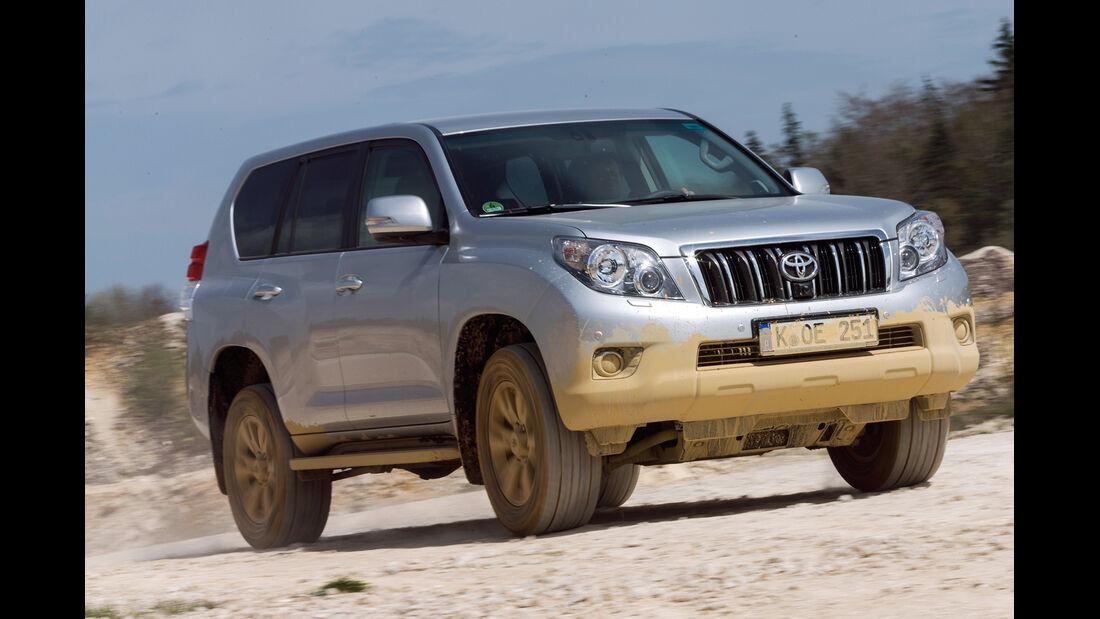 Toyota Landcruiser, Frontansicht