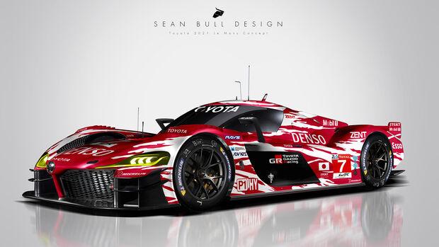 Toyota Le Mans Hypercar Concept - Sean Bull Design