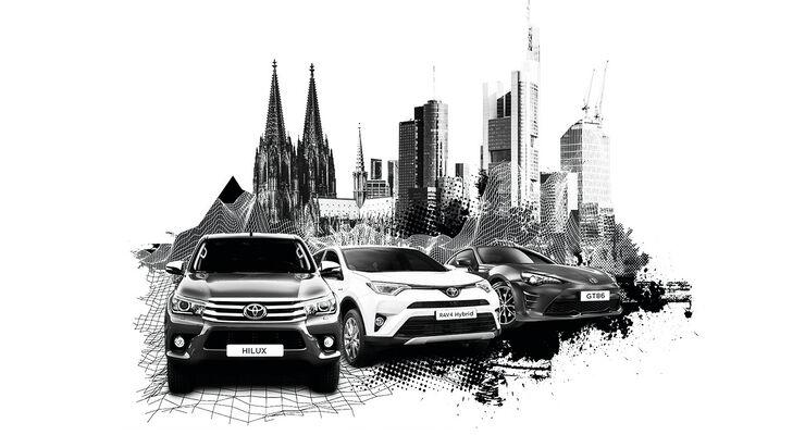 Toyota Leser-Test-Drive 2016