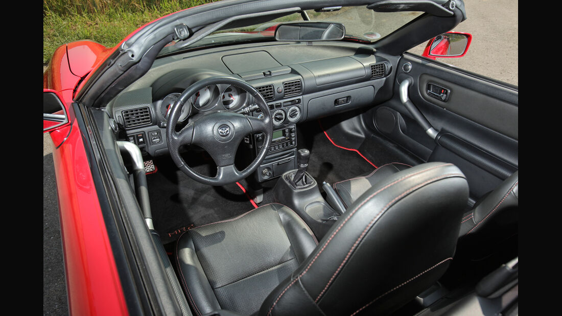 Toyota MR2 Competition, Cockpit
