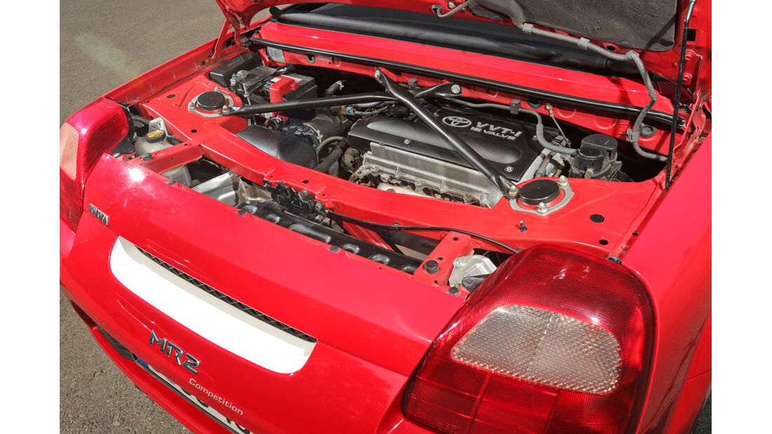 Toyota MR2 Competition, Motor