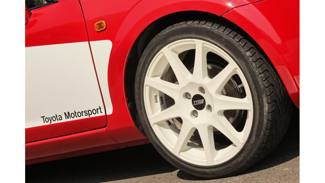 Toyota MR2 Competition, Rad, Felge