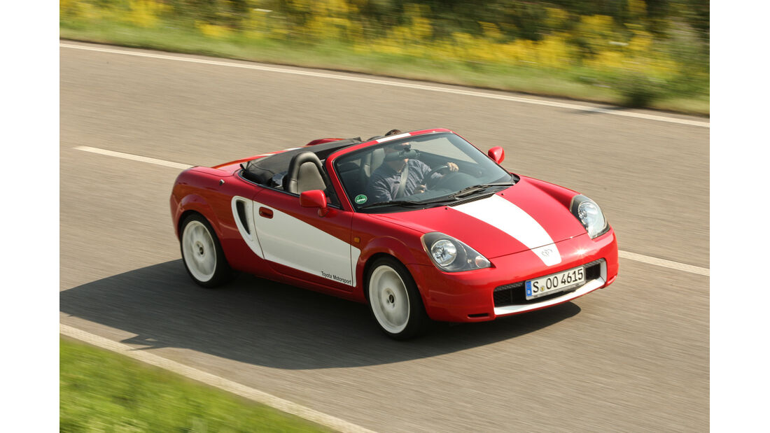 Toyota MR2 Roadster, Frontansicht