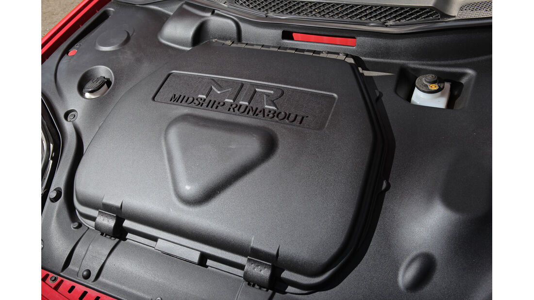 Toyota MR2 Roadster, Motor, Abdeckung