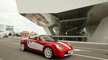 Toyota MR2 Roadster, Seitenansicht