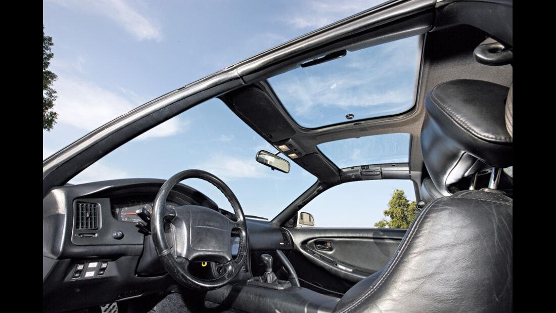 Toyota MR2 Turbo, Cockpit