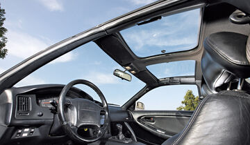 Toyota MR2 Turbo, Cockpit