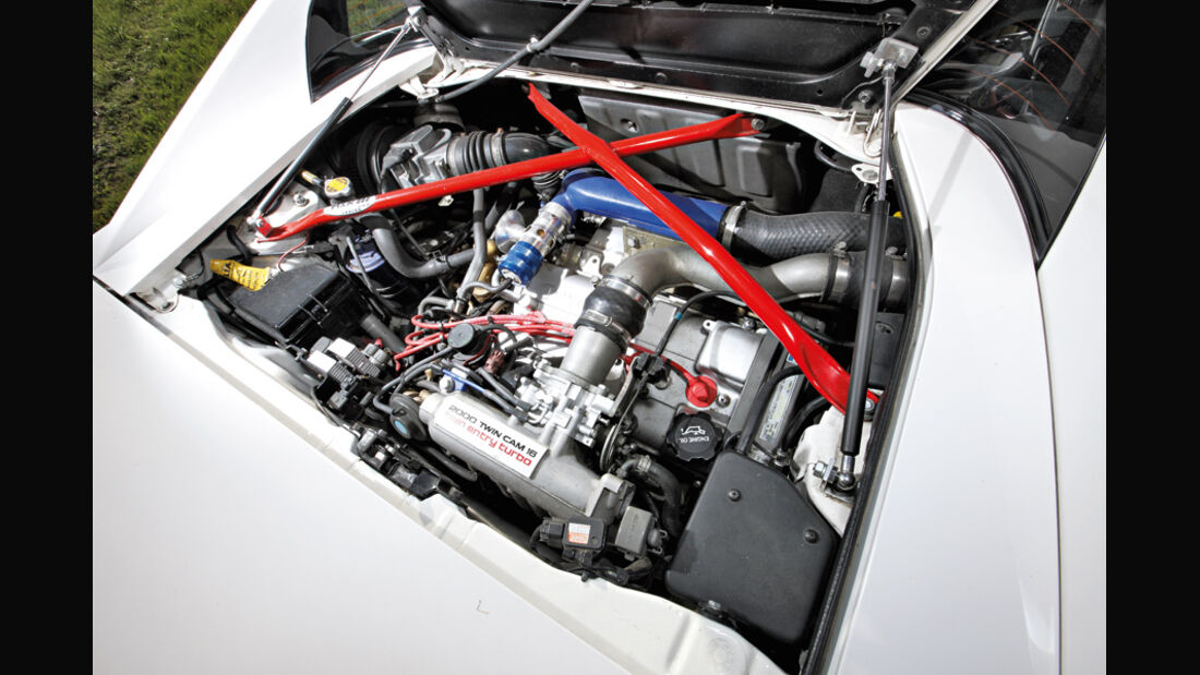 Toyota MR2 Turbo, Motor