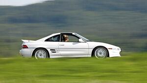 Toyota MR2 Turbo, Seitenansicht