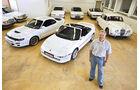 Toyota MR2 Turbo, Toyota Celica Turbo 4WD Carlos Sainz, Garage, verschiedene Fahrzeuge