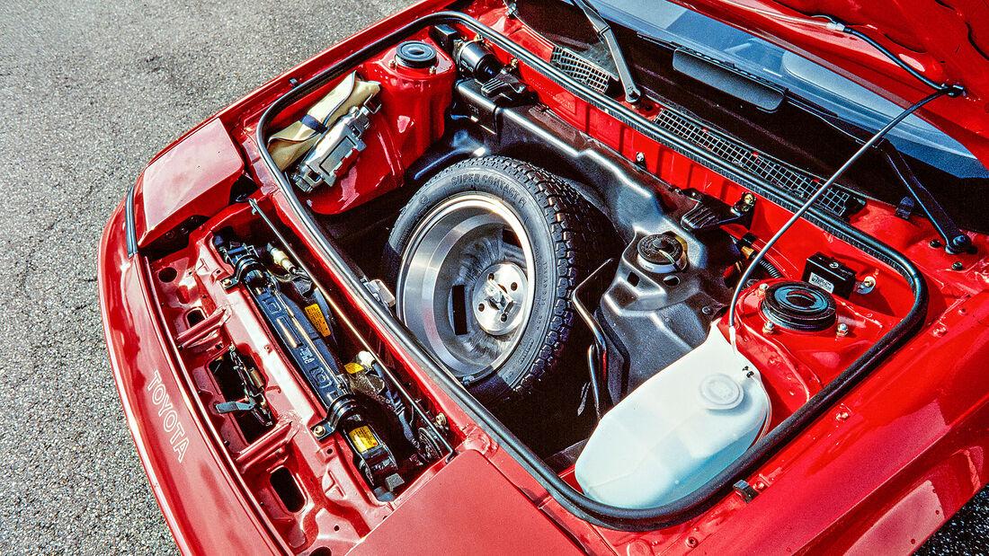 Toyota MR2 W1 (1985), Kofferraum