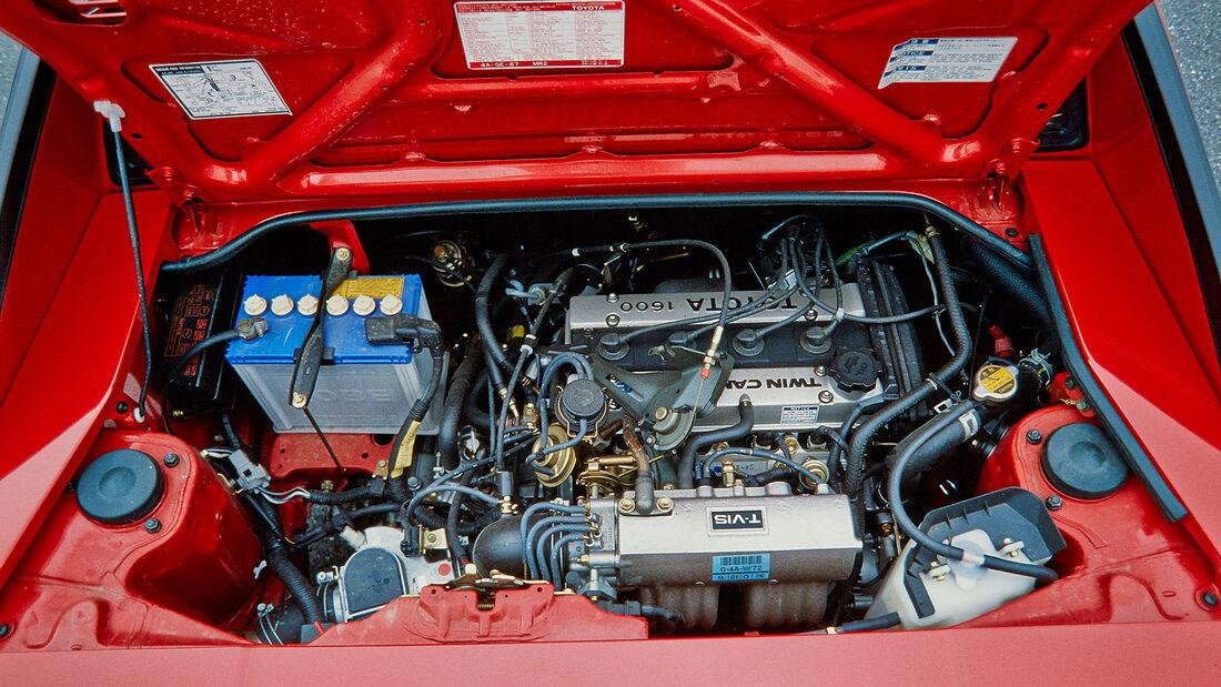 Toyota MR2 W1 (1985), Motor