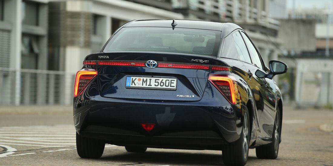 Toyota Mirai, Heckansicht