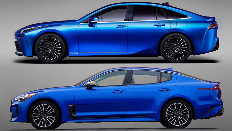 Nanu Der Sieht Ja Gut Aus Neuer Toyota Mirai 2020 Auto