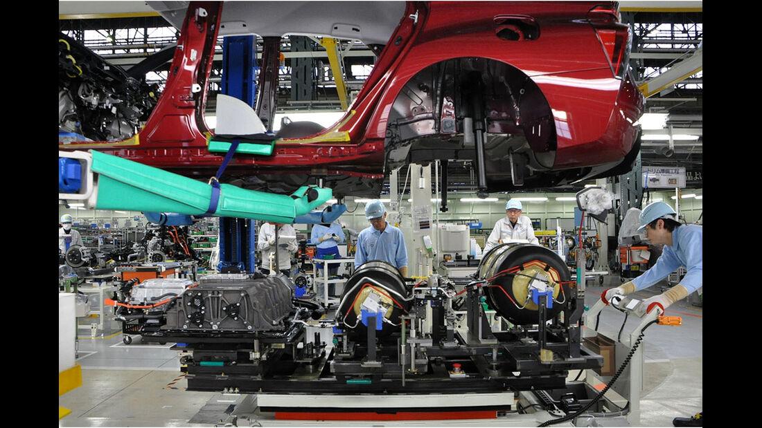 Toyota Mirai Technik Workshop 03.2015