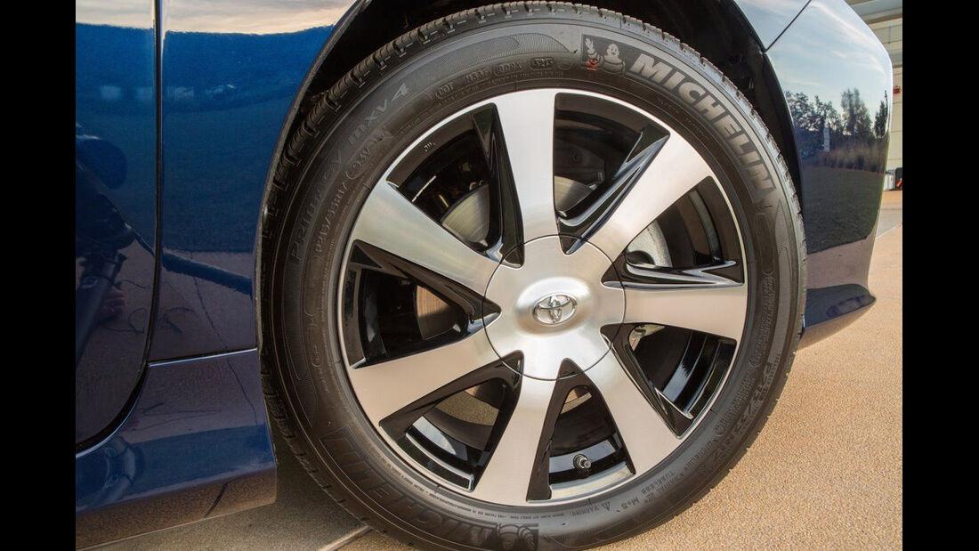 Toyota Mirai, ams, Fahrbericht, Rad