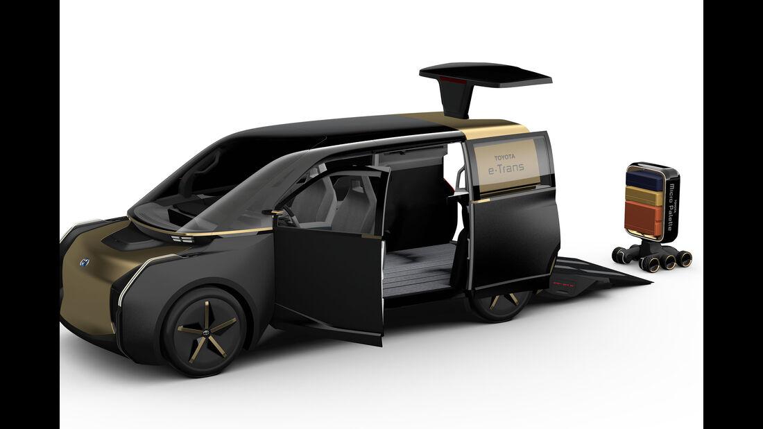 Toyota Mobilitaets-Themenpark Tokyo Motor Show 2019