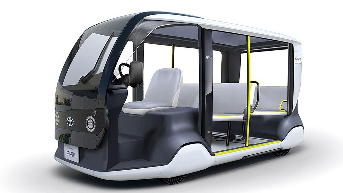 Toyota Mobilitätsfahrzeug APM Tokio 2020